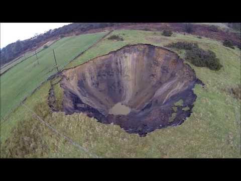 Foolow Sinkhole Derbyshire