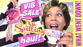SEPHORA VIB SALE HAUL-IDAY HAUL 2017! ☕️  A Tea Spilling Adventure!