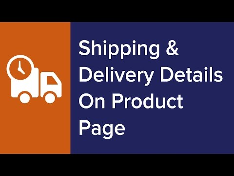 Kill #1 Buyer's Objection: Display Estimated Shipping & Delivery Details on WooCommerce Product Page