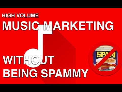 How To Market Music HARD w/o Spamming