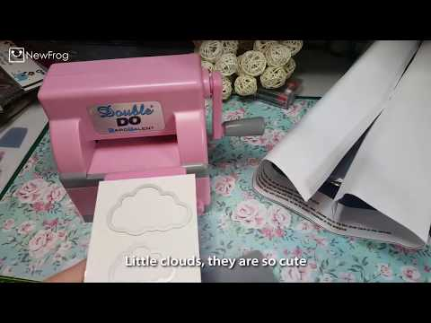 REVIEW | How to use DIY Plastic Paper Cutting Embossing Machine