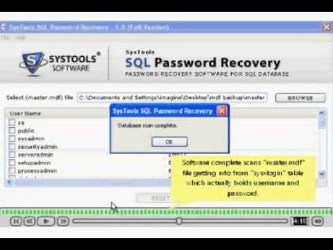 Lastbit SQL Password Recovery free download - heregfil