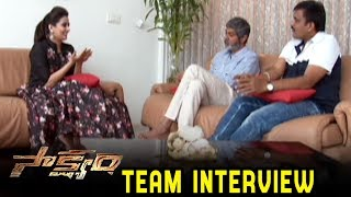 Fantasy Thriller Sakshyam Movie Team Special Interview | Spice Andhra