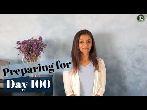 Preparing for Day 100