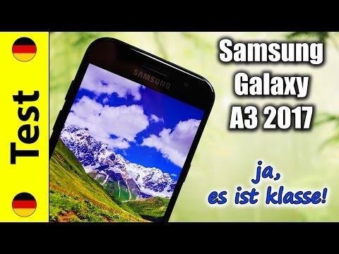 Samsung Galaxy A3 2017 Test | ja, es ist klasse! (deutsch)
