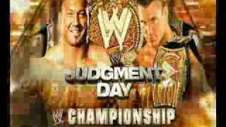 RANDY ORTON VS BATISTA JUDGMENT DAY 2009 PROMO