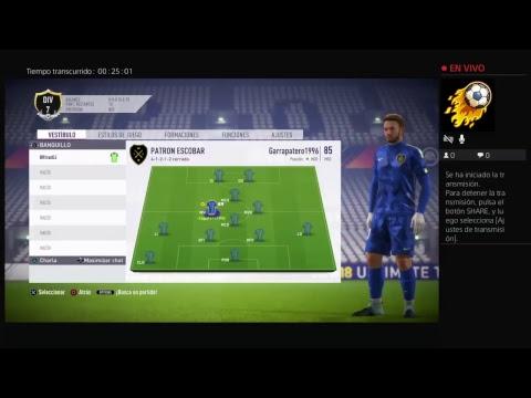 Club pro EN DIRECTO!!!! FIFA18 (desde medellin)