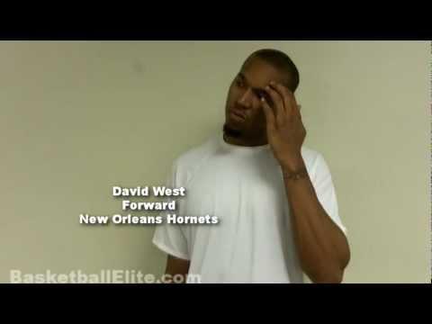 David West Interview - NBA Basketball