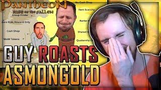 Asmongold Reacts to Joe Leonard Reacting to Asmongold Reacting to Pantheon Gameplay