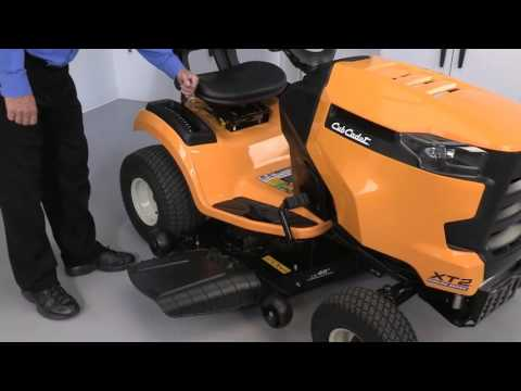 How to Remove the Deck on XT Enduro Series Lawn Tractors