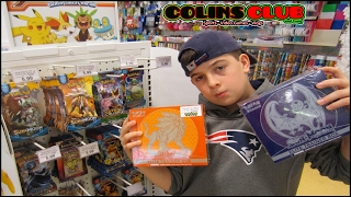 Opening Pokémon Sun Moon Elite Trainer & Booster BOXES + NBA NFL NHL & WWE packs