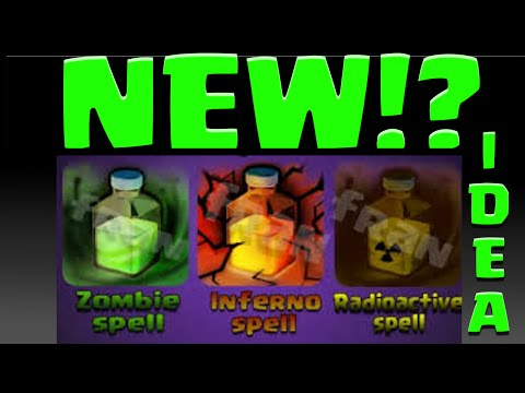 Clash of Clans NEW SPELLS! Zombie Spell? New Spell Ideas Poison?!