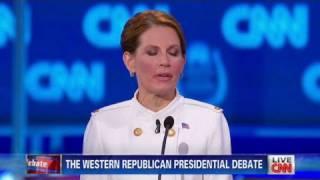 Michele Bachmann takes on Obama's family