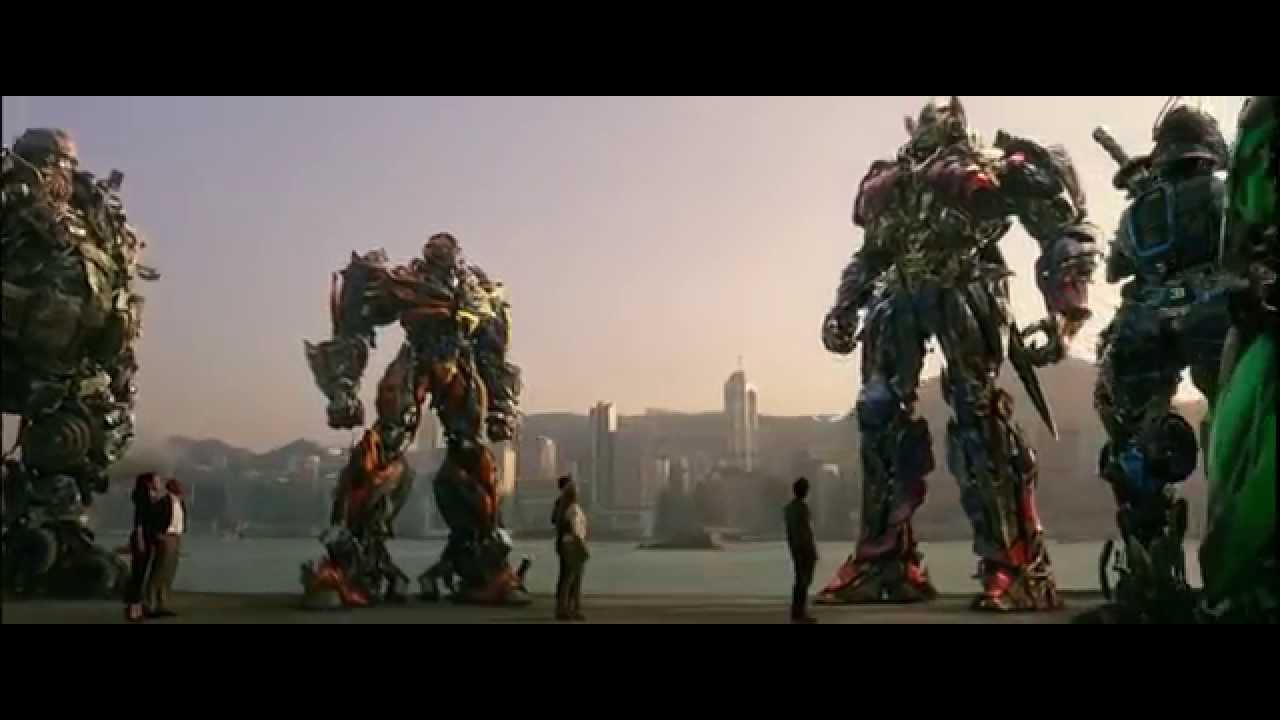 Transformers 4 2014 La Despedida De Optimus Prime Hd