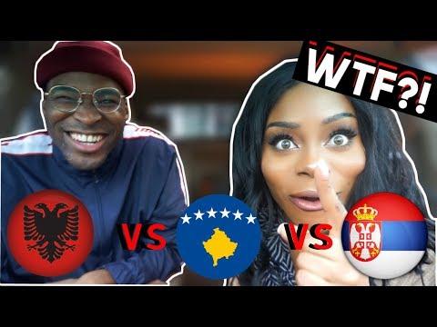 REACTION | ALBANIA + KOSOVO vs SERBIA Rap/Hip Hop/RnB