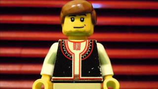 The national anthem of Bulgaria in lego