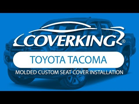 How To Install 2016-2020 Toyota Tacoma Molded Custom Seat Covers | COVERKING®