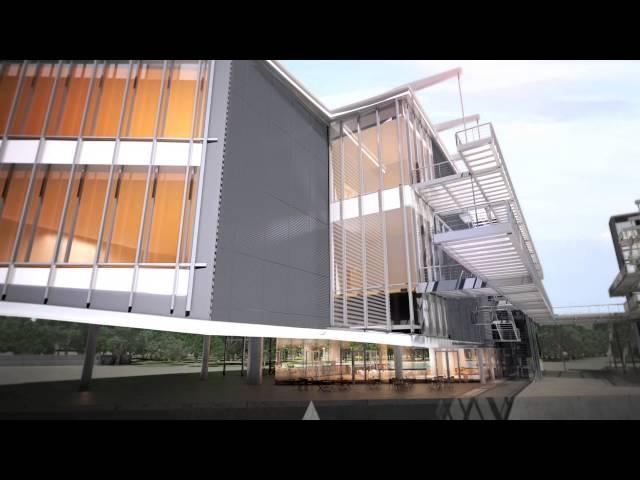 Recreación en 3D del Centro Botín
