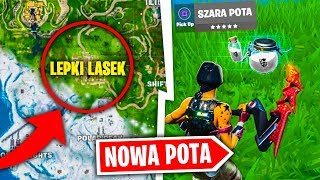 NOWE POTKI W FORTNITE UPDATE !! SEKRETY MAPY SEZON 10 !!