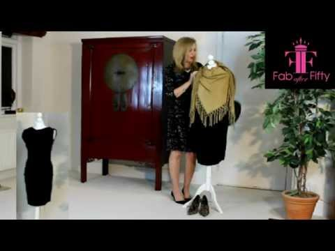 Fashion Tips For Women Over 50 Styling Little Black Dress For Daytime Look Youtube