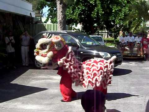 Mauritius Chinese New Year at Pereybere