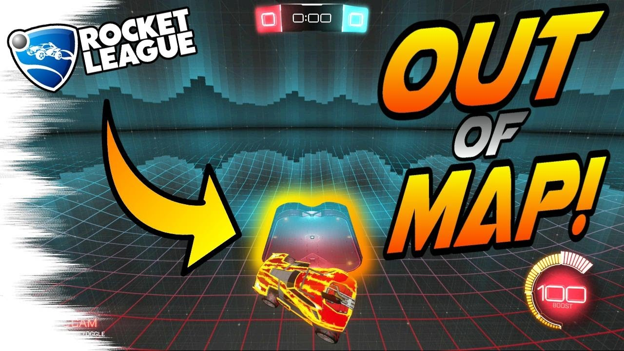 Rocket League GLITCH TUTORIAL - How to Get OUT OF THE MAP (Rocket League on school's out, ops out, flag out, letter out, print out, drawing out,