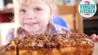 HOMEMADE APPLE & CINNAMON CAKE RECIPE