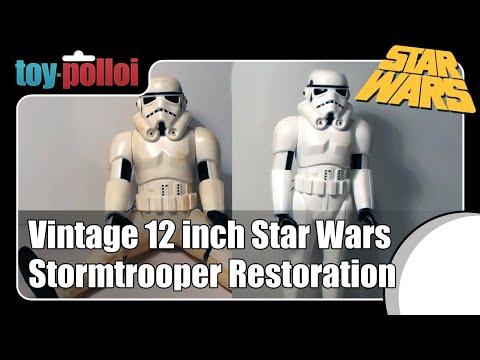 Fix it guide - Vintage Star Wars 12 inch  Stormtrooper restoration
