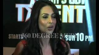 India's Got Talent - Hot Sexy Malaika Arora Khna reveals her hidden talent - loves to play flute