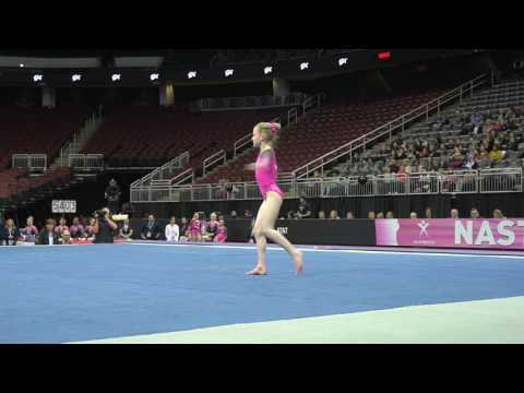 Lillian Lippeatt - Floor Exercise – 2017 Nastia Liukin Cup