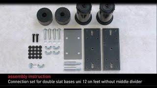 Swissflex assembly instructions - uni 12 bridge® connection set