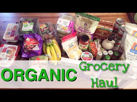 ORGANIC GROCERY HAUL ON A BUDGET // Family of Four