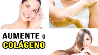 AUMENTE o COLÁGENO do seu corpo com 3 INGREDIENTES