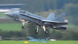 Spanish Air Force F-18 Hornet Solo Display - AIRPOWER16 HD