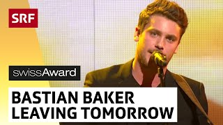Bastian Baker mit Leaving Tomorrow am SwissAward 2014