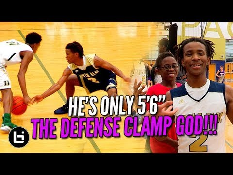 "HE'S 5'6"" AND WILL LOCK YOU UP! Javian Williams The Clamp God Ballislife Highlights"