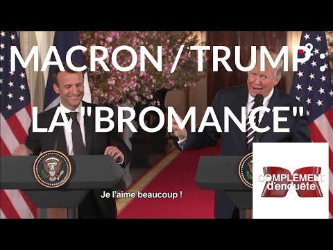 """Complément d'enquête. Macron/Trump : la """"bromance"""" - 13 septembre 2018 (France 2)"""