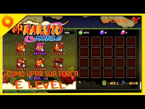 Naruto Mobile - Dica de como upar jóias e nível