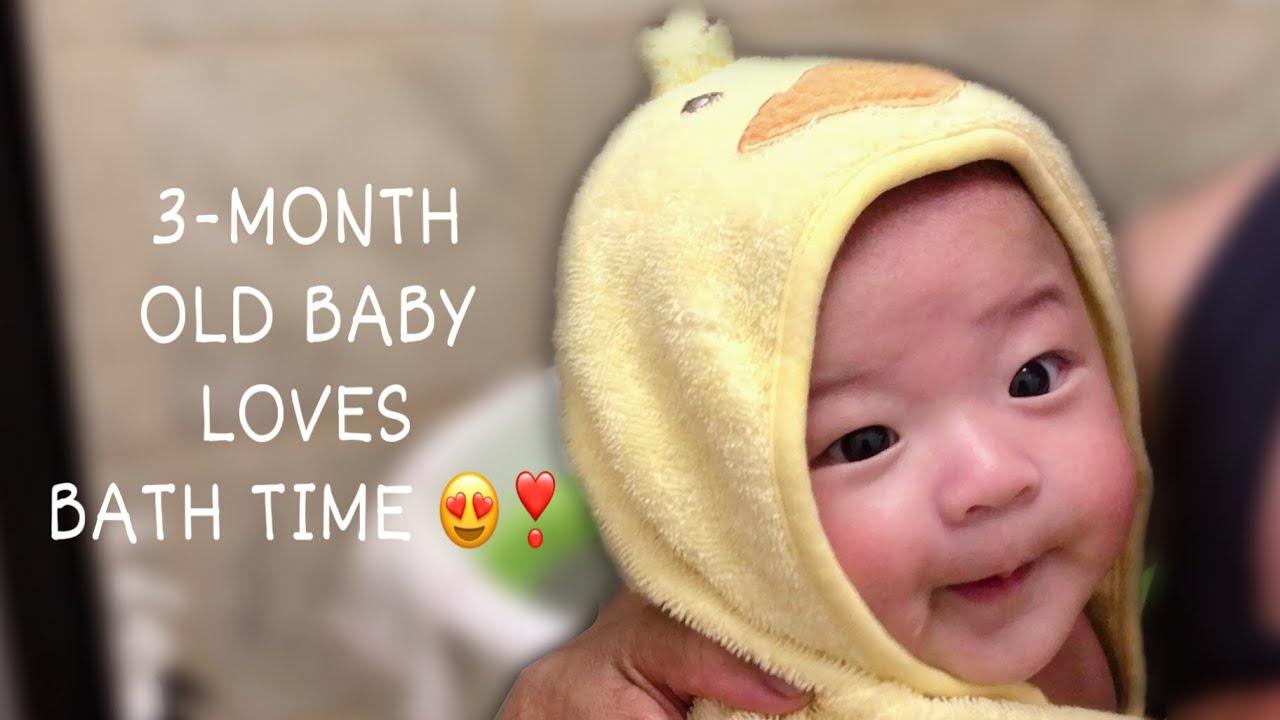 3-MONTH OLD KORPHIL BABY'S BATH ROUTINE 🛁 | SEOJOON 🇰🇷🇵🇭