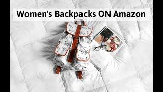 Women 39 s Backpacks ON Amazon