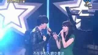 星光大道2 藝人合唱賽 11強 20071019 - 林佩瑤 李聖傑 遠走高飛