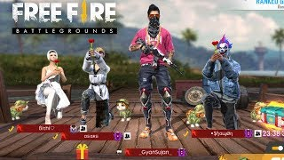 RANKED MATCH SQUAD |Garena Free Fire Live #INDIA