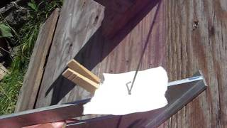 Using declination angle of the sun to set up equatorial platform for solar cooking.