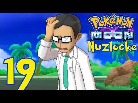 [19] Scientists and Fossil Park! (Pokemon Moon Nuzlocke RivalLocke)