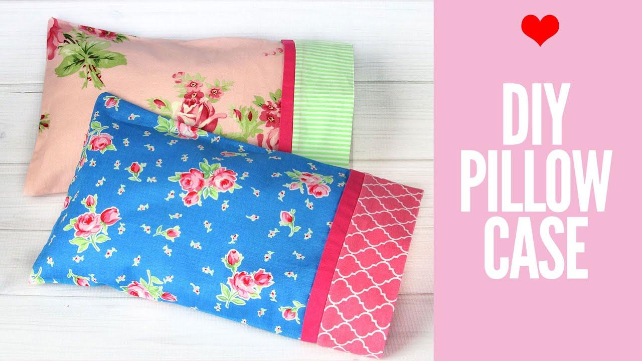 Diy Pillowcase Pattern Easy Craft Ideas