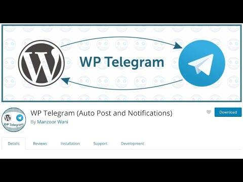WP Telegram (Auto Post and Notifications) – WordPress plugin