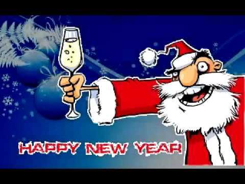 Прикольное поздравление с новым 2014 года