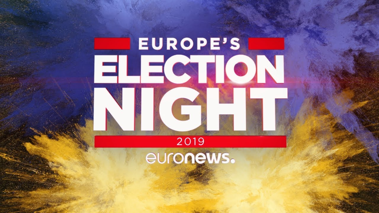 Euronews:LIVE   European elections 2019: special coverage on Sunday May 26th