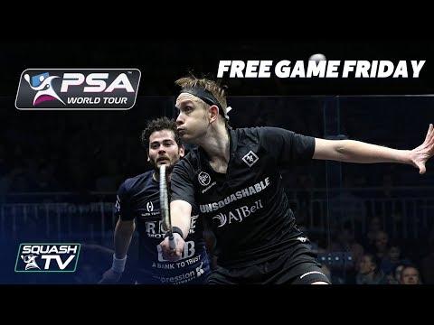 Squash: Free Game Friday - Gawad v Willstrop - Grasshopper Cup 2018