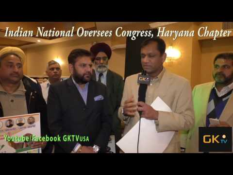 Indian National Overseas Congress, USA with GKTVusa